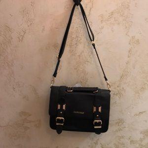 Frank Lyman black satchel purse